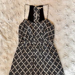 MADEWELL pattered silk dress, size 4